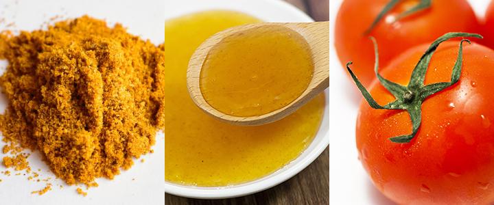 チャツネやトマトソースを使った旨味のあるカレーに海苔とゆずこしょうの風味