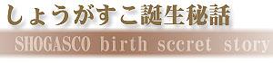 SHOGASCO(ショウガスコ)誕生秘話